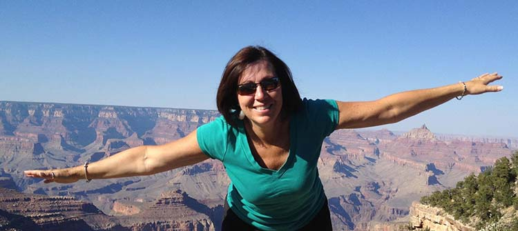 Mo at Grand Canyon