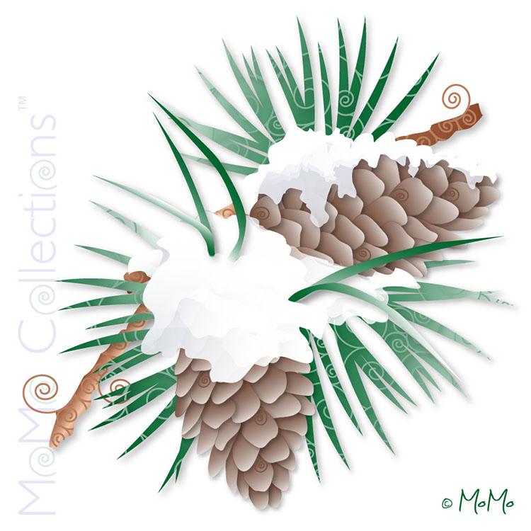 Pinecone Snow_WM